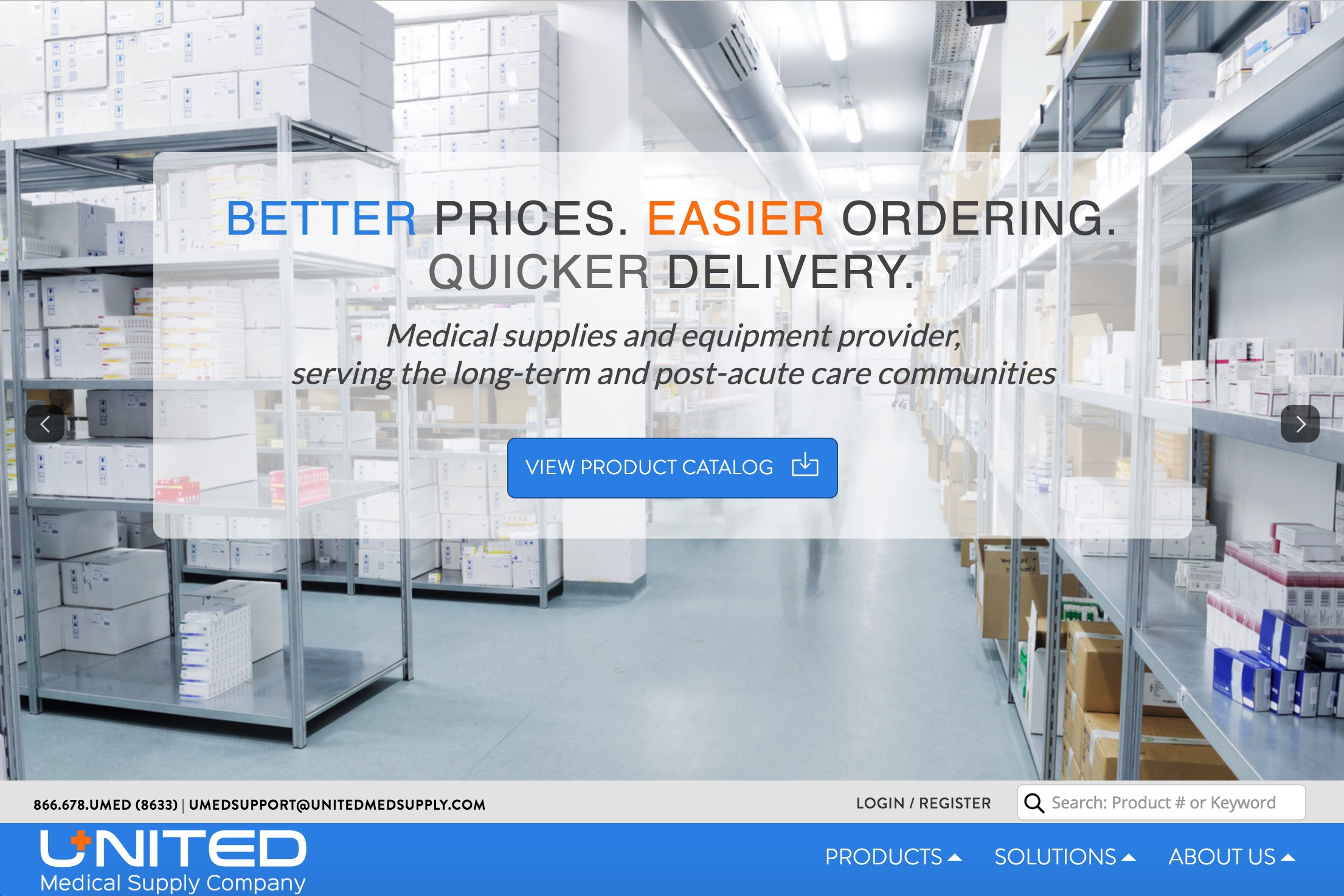 Medical Device eCommerce Website Design | ZUCUE